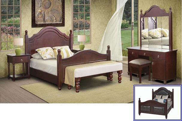 New home furnishers diana bedroom suite for Diana bedroom set