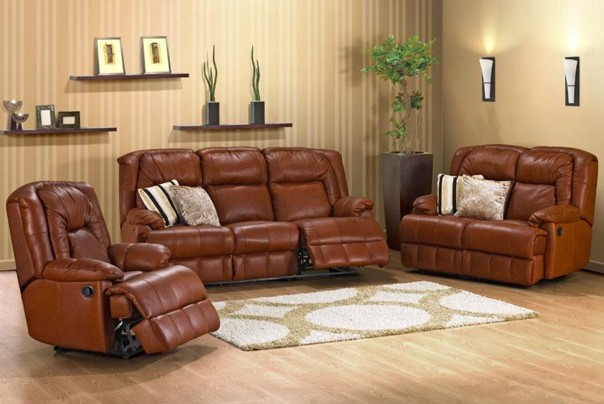 new-york-leather-fabric-recliner-lounge-suite : reclining lounge suites - islam-shia.org