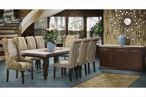 New Home Furnishers 187 Casablanca Diningroom Suite