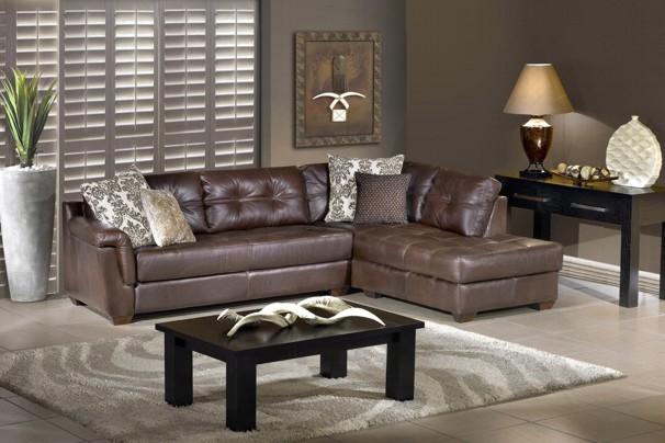 New Home Furnishers 187 Chevonne Corner Lounge Suite By Alpine