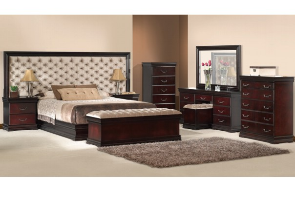 New Home Furnishers 187 Claudia Bedroom Suite