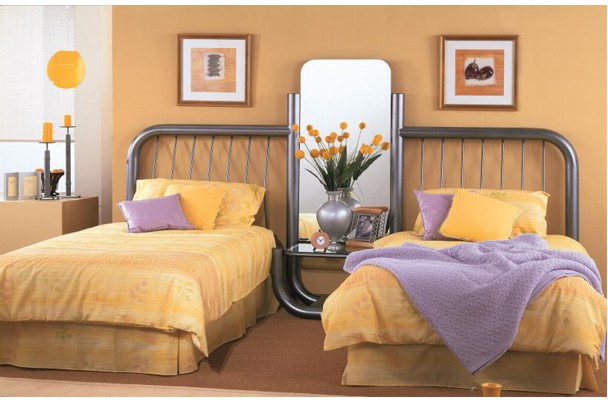 Lunar Twin Bedroom Suite