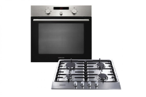 New Home Furnishers u00bb Samsung 70Lt Electric Built-in Single Oven and Gas Hob Pack u2013 PKG500G