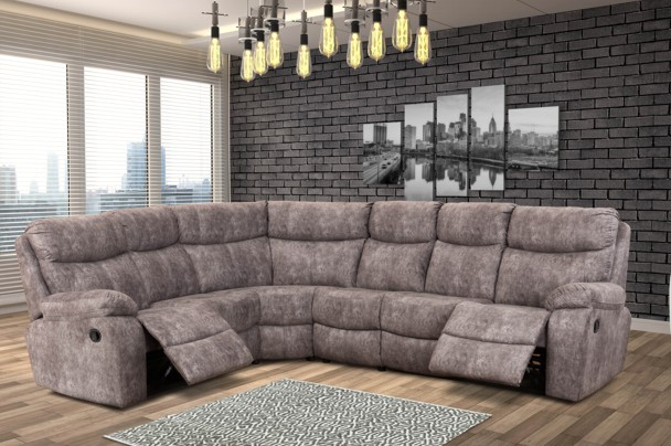 nevada-upper-leather-fabric-corner-recliner-lounge-suite- & New Home Furnishers » Nevada Corner Recliner Lounge Suite by ... islam-shia.org