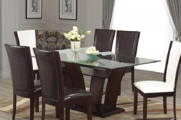 New Home Furnishers » Sophia 7Piece Rectangle Dining Room Suite