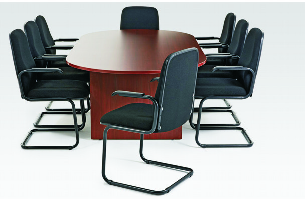 New Home Furnishers Perth Boardroom Oval Table And Chairs