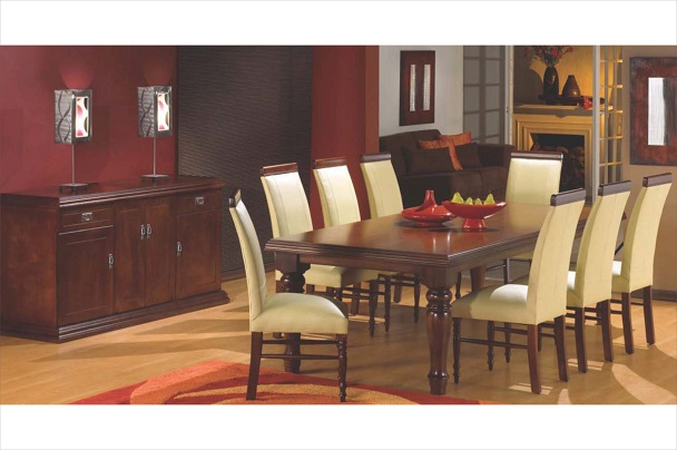 New Home Furnishers 187 Oxford Diningroom Suite