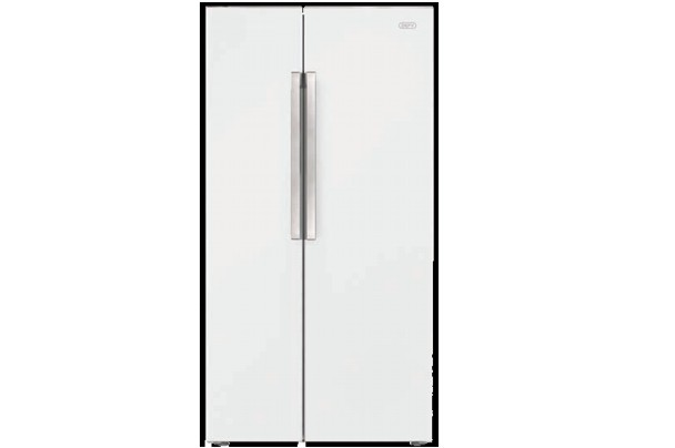 New Home Furnishers 187 Defy Side By Side F740 Eco White