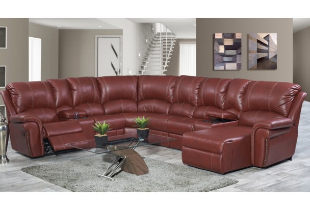 New Home Furnishers 187 Jersey Recliner Corner Lounge Suite