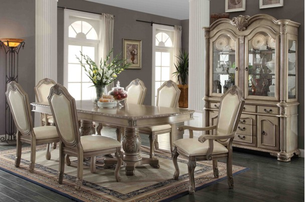 New Home Furnishers 187 Villa Vittoria 11 Piece Dining Room
