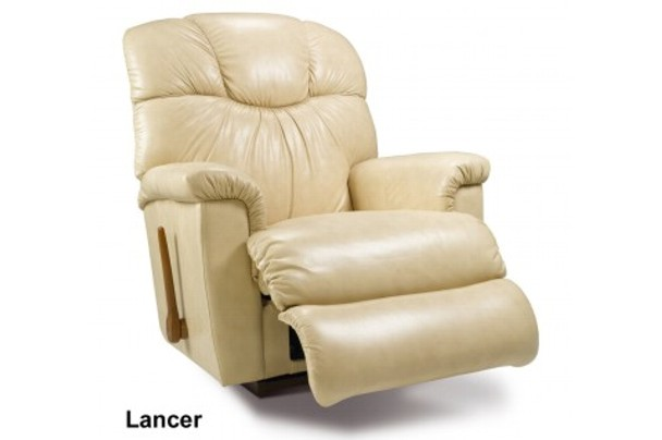 Lancer Lazy Boy Rocker Recliner Leather Fabric